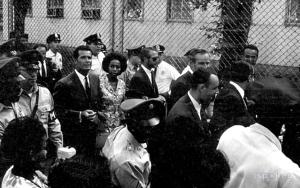 James Garner with Diahann Carroll, March on Washington 1963